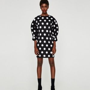 Never Worn: Zara Trafaluc Polka Dot Dress